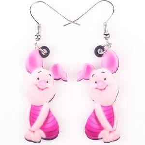Piglet Acrylic Earrings